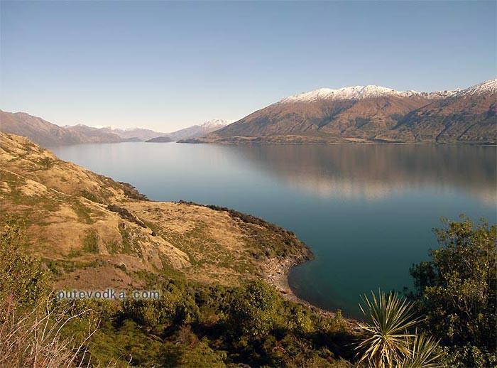 Новая Зеландия. Остров Южный.