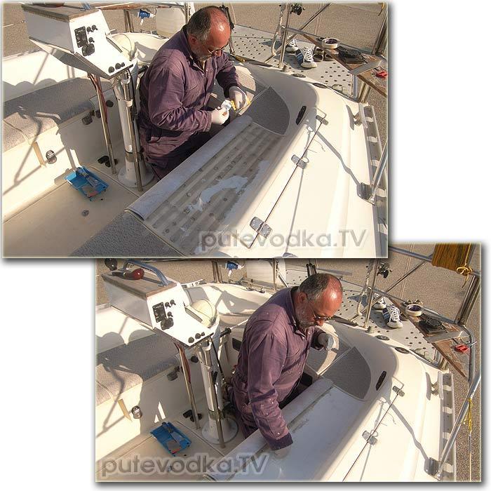 Пепелац. Технология нанесения нового нескользящего покрытия.