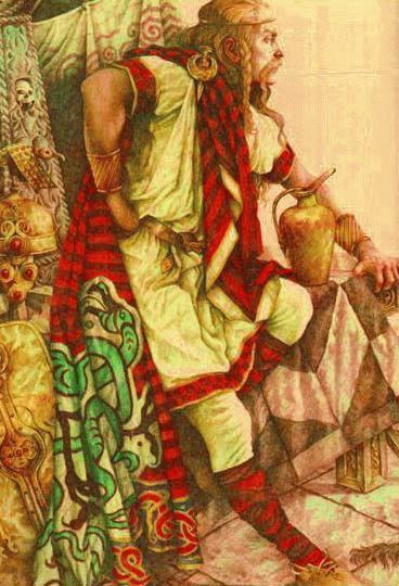 Ирландия. Кухулин (Cu Chulainn), «храбрейший из сидов», одна из центральных фигур ирландского эпоса.