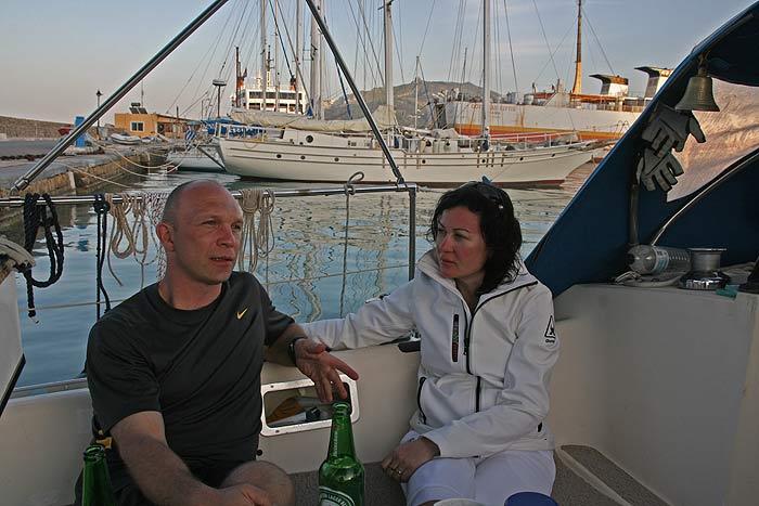 Яхта Пепелац. Порт Закинтос.