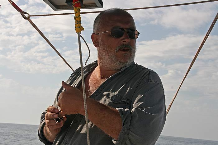 Яхта Пепелац. Костя Путеводка.
