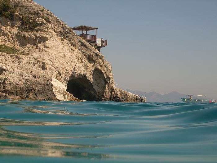 Остров Закинтос (Zakinthos). Голубые Пещеры.
