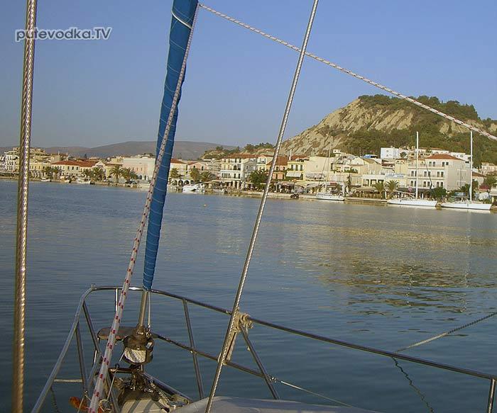 Яхта ПЕПЕЛАЦ. Порт Закинтос  (Zakynthos).
