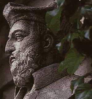 бюст Мишеля Нострадамуса в г.Салоне