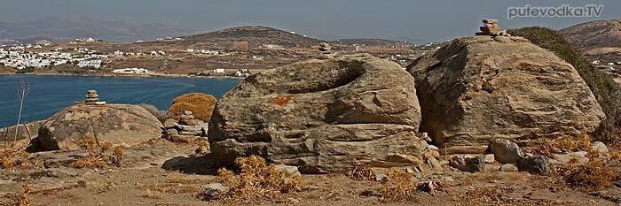 Греция. Эгейское море. Киклады. Остров Парос. Микенский акрополь.