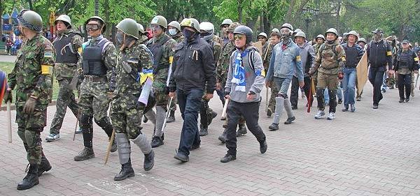 Одесса. Массовое убийство 2 мая 2014 года. Организованные отряды провокаторов Правого сектора. Вооруженные и внятно управляемые.
