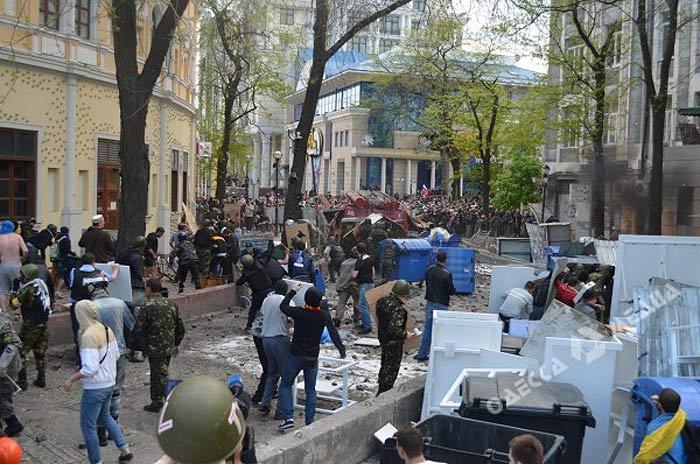 Одесса. Массовое убийство 2 мая 2014 года. Бойня вокруг Греческой площади.