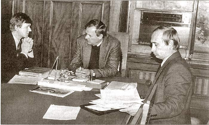 Чубайс, Собчак, Путин. Лето 1991 г.