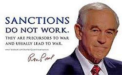 Санкции— это война.