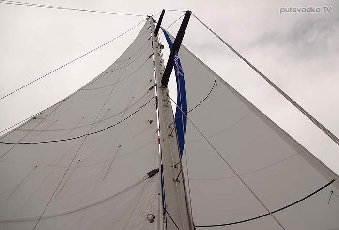 Яхта ПЕПЕЛАЦ. Греция. Катаколо— Закинтос.