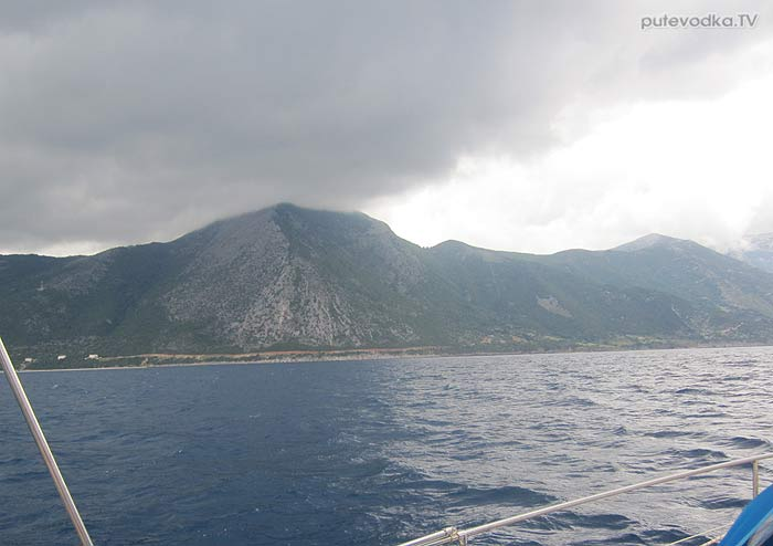 Яхта ПЕПЕЛАЦ. Греция. О. Закинтос— о. Кефалония.