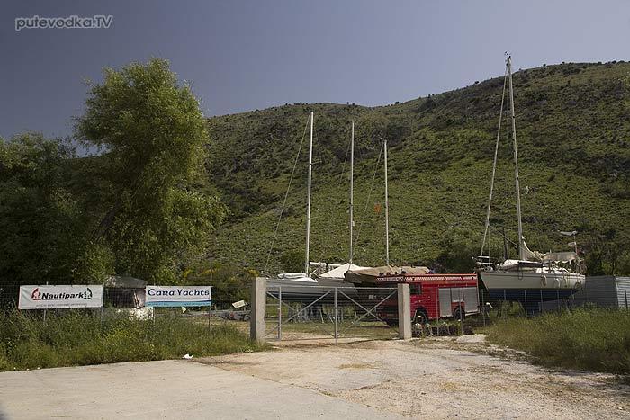 Греция. Яхта «Пепелац». Платария.