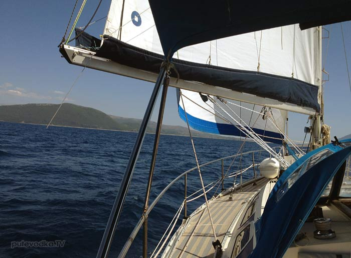 Греция. Яхта «Пепелац». Платария— Лефкас.