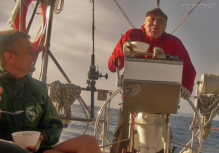 Яхта «Пепелац». Греция. Судовой журнал. Монгониси (о.Паксос)— Палаиокастрия (о.Керкира)