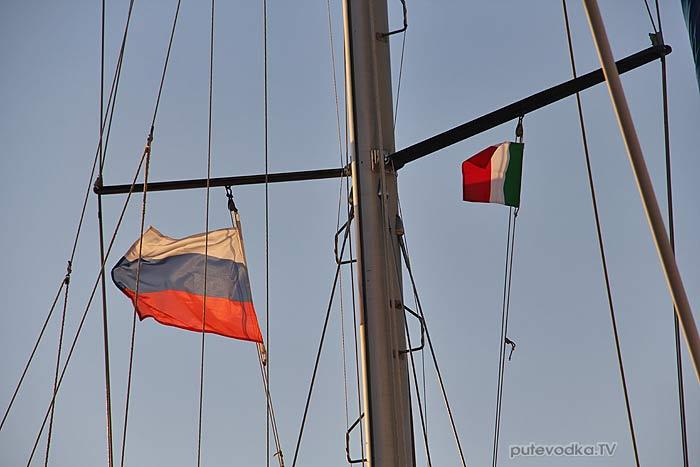 Яхта ПЕПЕЛАЦ. Италия. П-ов Саленто. Галлиполи.