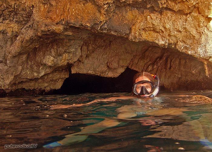 Яхта «Пепелац». Судовой журнал. Греция. Остров Закинтос. Голубые пещеры.