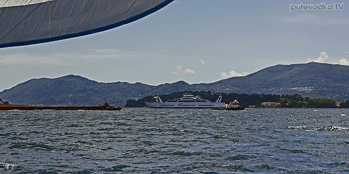 Яхта «Пепелац». Судовой журнал. Греция. Остров Керкира (Корфу). Северный канал.