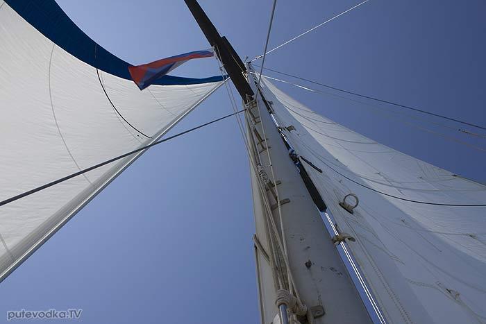 Яхта «Пепелац». Судовой журнал. Греция. Керкира— Лефкас.