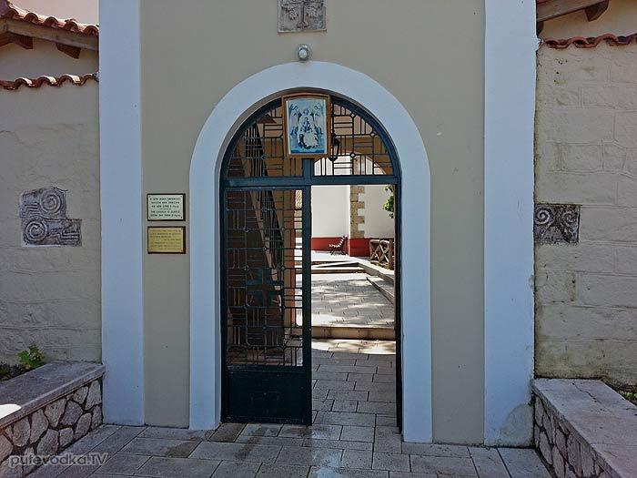 Яхта Пепелац. Греция. Остров Лефкас. Монастырь Фанеромени.