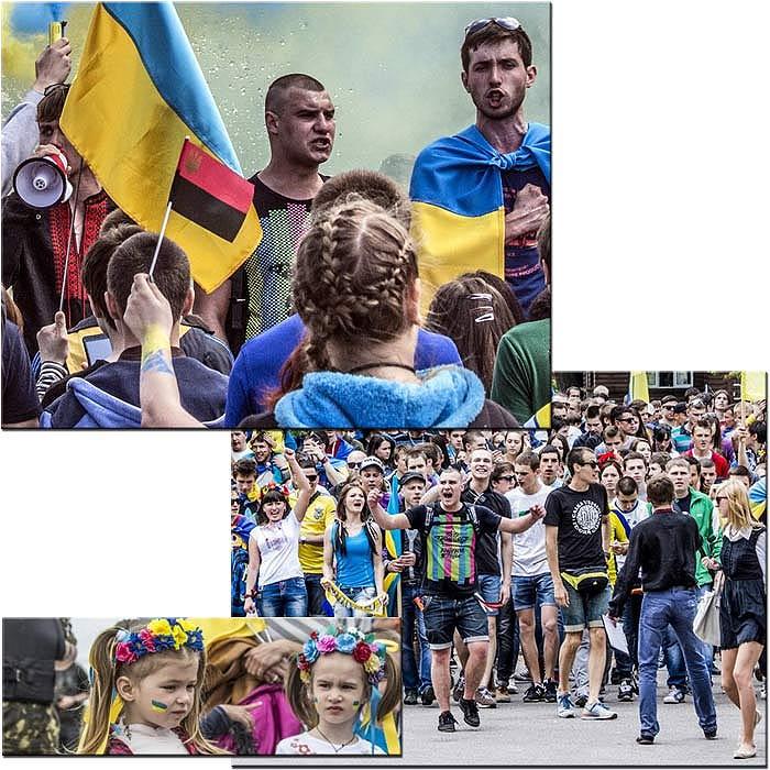 Никополь 2014. Слава Украине!
