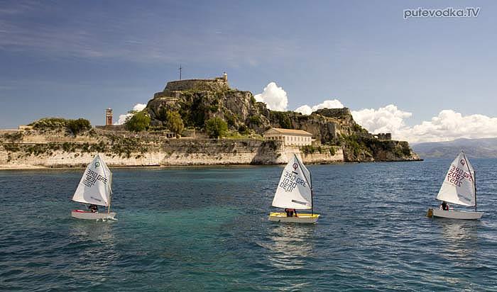 Греция. Яхта «Пепелац». Остров Керкира (Корфу). Марина яхт-клуба NOAK.