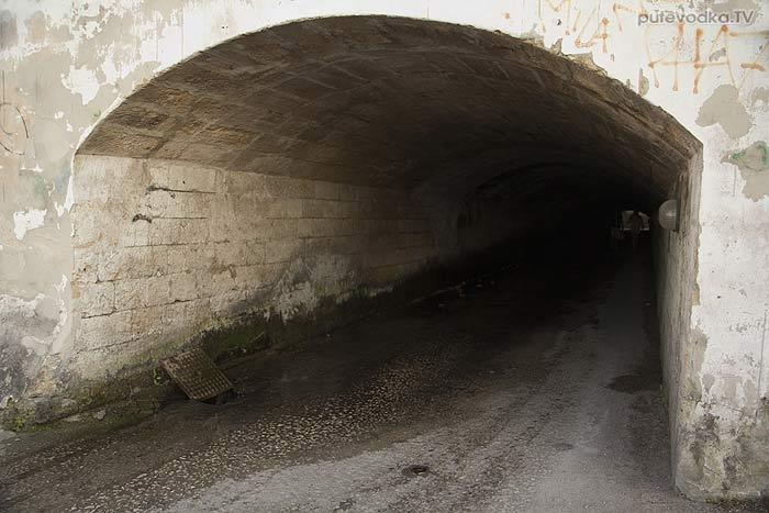 Яхта «Пепелац». Судовой журнал. Италия. Галлиполи. Туннель.