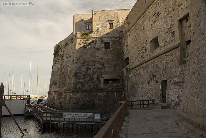 Яхта «Пепелац». Судовой журнал. Италия. Галлиполи. Крепость— замок.