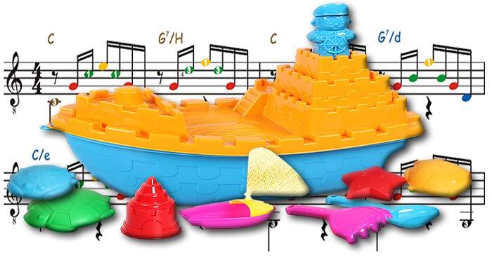 Скачать бесплатно детские песенки и музыку